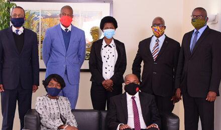 !Gawaxab assumes duty as new Bank of Namibia boss