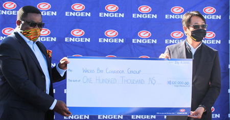 Transport sector COVID-19 fight gets injection from Engen
