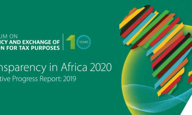 African countries making headway in tackling tax evasion and money laundering – 2020 Tax Transparency report