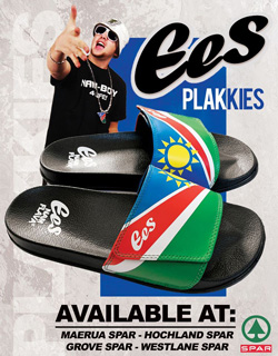 EES adds Plakkies to his shoe collection