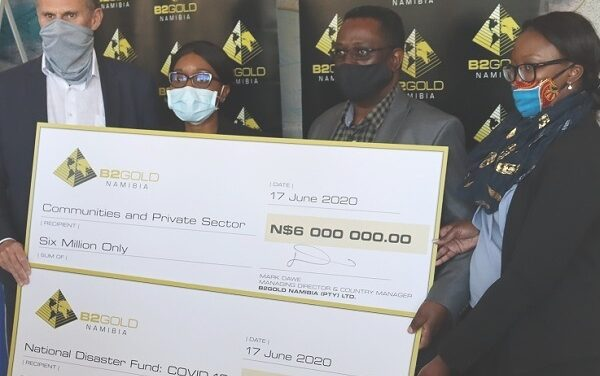 B2Gold's year-to-date corporate social investments exceed N$100 million