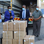 Humanitarian relief aid to curb COVID-19 arrives