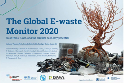 Record 53.6 million tonnes of e-waste produced globally in 2019 – report