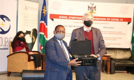 Health Ministry receives thermal cameras from FirstRand