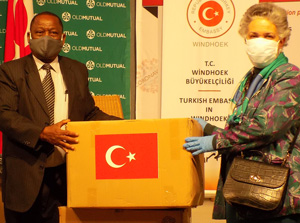 Health Ministry receives support from Turkey as COVID-19 cases spike