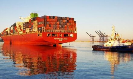 Second 9000 TEU container ship in and out Port of Walvis Bay in just two days