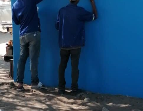 MTC increases company visibility through 'Paint Namibia Blue' project