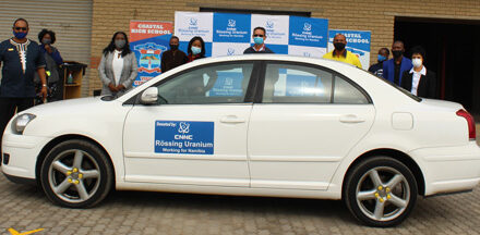 Swakopmund school receives vehicle from uranium miner – Vehicle to serve as a skills training tool for auto mechanic learners