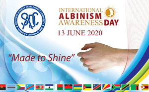 SADC to join the international community in commemorating the International Albinism Awareness Day