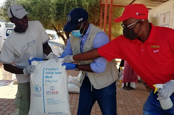 Pepfar food relief reaches deep into Kunene