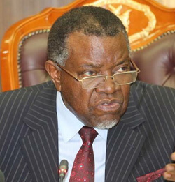 Geingob urges individuals, corporates to donate to the COVID-19 national response for his upcoming birthday