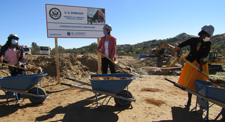 Construction of New US Embassy expected to significantly benefit local economy