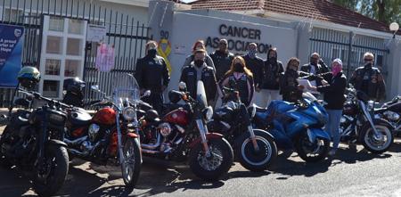 Bikers raise funds for Cancer Association