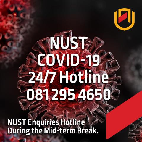 NUST confirms one positive COVID-19 case