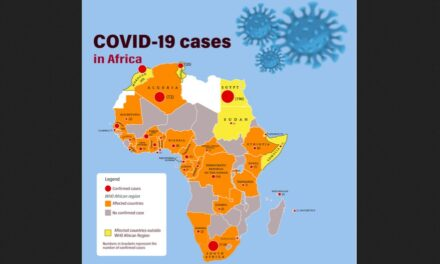 Approximately 5% of health workers are infected with COVID-19 in sub-Saharan Africa