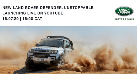 New Land Rover Defender to hit African airwaves on 16 July