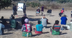 N≠a Jaqna Conservancy restarts community consultations while complying with social distancing, sanitation requirements