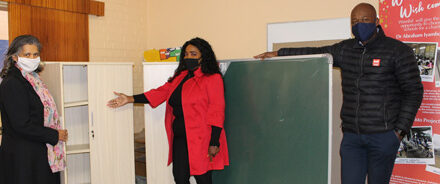Christmas comes early for two informal schools – Around 3500 learners to benefit from donation