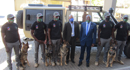 Anti-poaching drive gets boost from local partners –  MEFT Dog Unit contributes to the fight