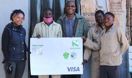 Nedbank contributes N$1 million to conservation relief