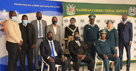 City fathers ink agreements with Correctional Services and UNAM