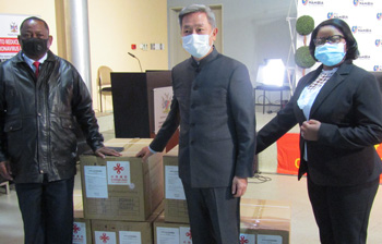 Health Ministry receives second batch of supplies from China to help frontline, health workers combat COVID-19