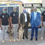 Special cruiser for special unit brings dogs quicker on the trail of poachers