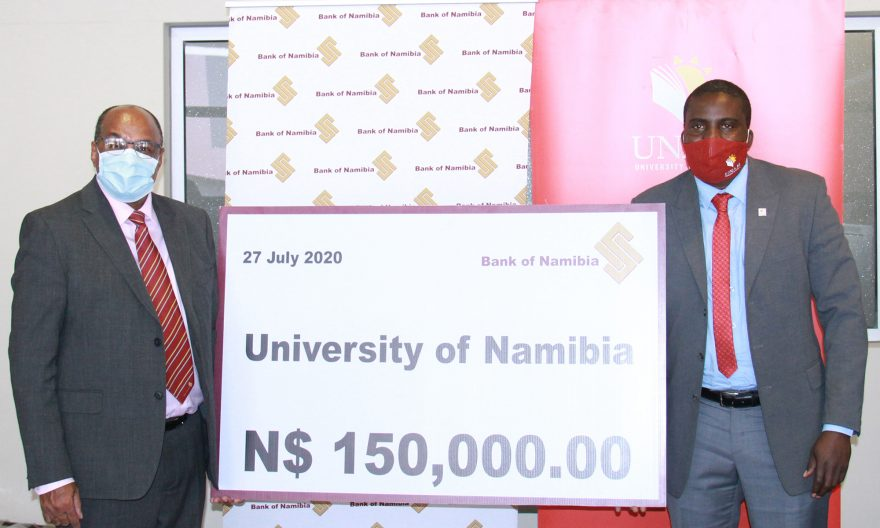Central Bank financially supports UNAM's Work Readiness Programme