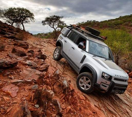 Kaokoland Defenders shod in Goodyear DuraTrac for extreme offroading