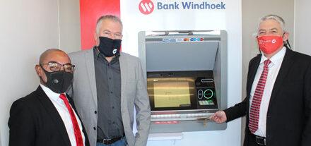 Bank Windhoek enhances customer experiences – First cash deposit ATM installed