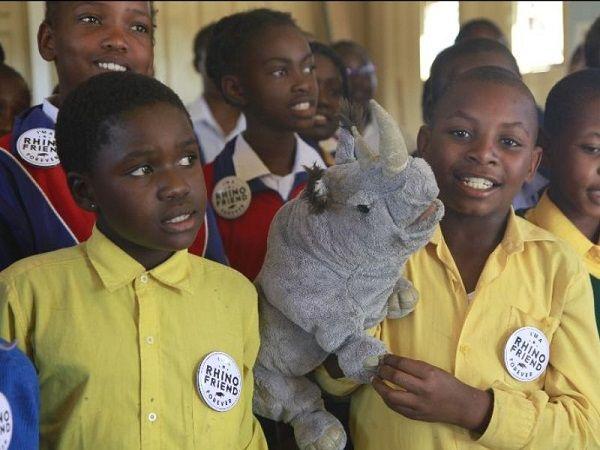 An aware, literate community first bulwark against rhino poaching