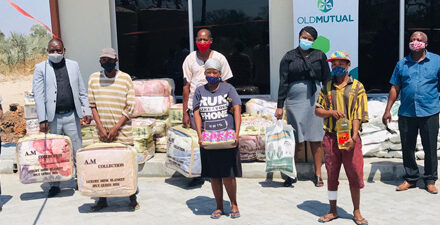 Old Mutual completes food parcels deliveries to communities in all 14 regions