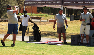 Cricket Namibia tees off with corporates for both business and pleasure