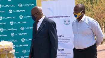Old Mutual's Covid-19 food outreach benefits communities in Oshikoto Region