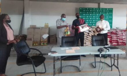 OM's COVID-19 food outreach initiative lands in Oshana Region