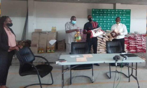OM's COVID-19 food outreach initiative lands in Oshana Region
