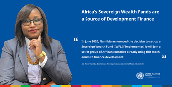 Africa's Sovereign Wealth Funds are a source of development finance