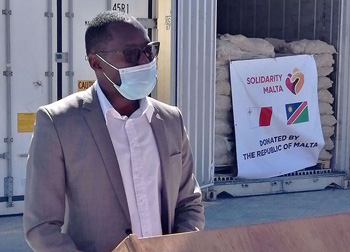 Vulnerable communities in the Erongo, Khomas regions to benefit from potato donation from Malta