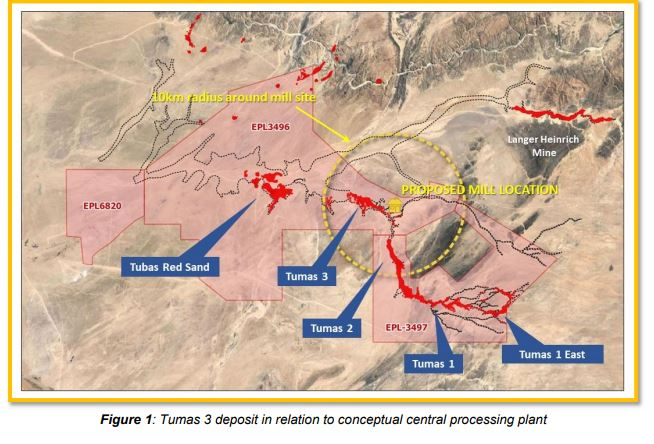 Aussie exploration company recommences drilling on Tumas project