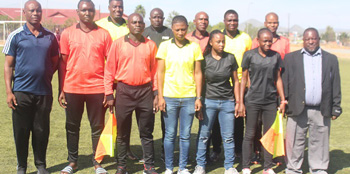 Local match officials undergo FIFA Member Association Elite referee online course
