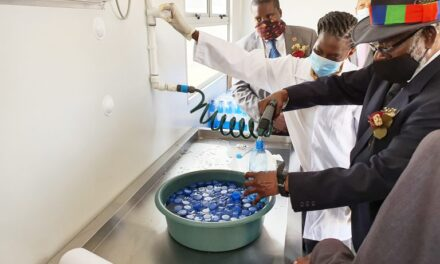 UNAM tests desalinated seawater bottling facility in Henties Bay