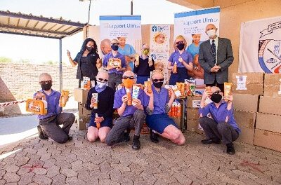 Germany-based charity donates sunscreen worth N$3 million in support of people living with albinism