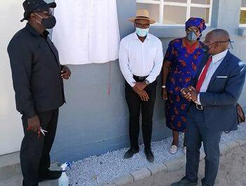 Development Bank donates classrooms to struggling school in Eenhana