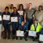 Railway construction technicians complete maintenance training