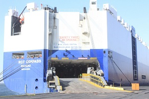 Namport docks 17 car carrier vessels amid pandemic