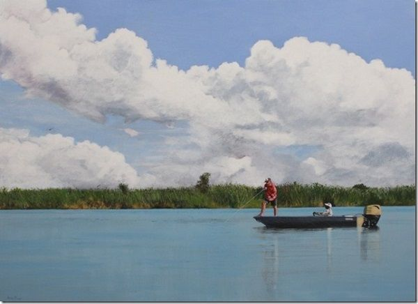 SA artist Denby Meyer's paintings go on sale to support freshwater project in Kasika
