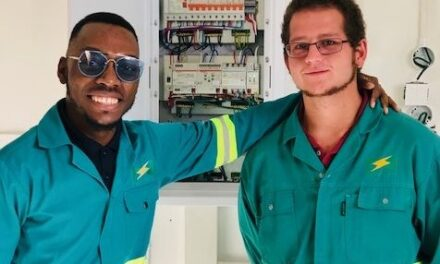 Innovative apprentice electricians set to drive NamPower's in-house energy savings