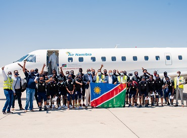 Brave Warriors departs for friendly fixture against Bafana Bafana