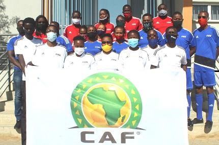 Confederation of African Football equips  eight Windhoek-based schools