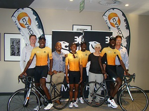Donated gear from RMB to aid developmental riders reach their full potential
